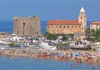 Acciaroli, case sul mare del Cilento